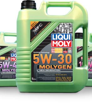 שמן MOLYGEN ירוק להגנה נוספת