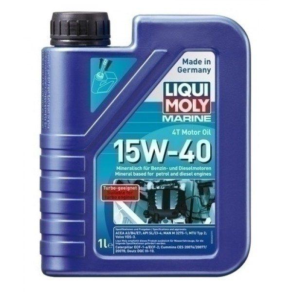 MARINE 4T MOTOR OIL 15W40 1L